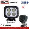 5 квадратный IP68 КРИ 40Вт Светодиодные лампы автомобиля при движении Trcuk (GT1013-40W)