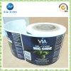 Banheira de vender à prova de etiqueta UV PVC/rolo de cola Vinil Pet etiqueta autocolante (jp-S219)