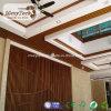 Techo decorativo de interior de los paneles WPC para el diseño de madera