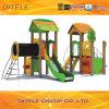 Campo da giuoco esterno variopinto del PE dei bambini del parco di divertimenti (PE-22201)