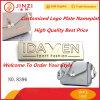 Placa de identificación modificada para requisitos particulares venta caliente de la placa de la insignia con alta calidad