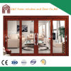 Porte coulissante en aluminium de verres de sûreté de profil pour la salle de séjour