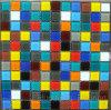 Mosaico di vetro della piscina di disegno del reticolo di mosaico (HSP309)