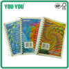 A4-A6の美しいSingle Spiral Colored Paper Notebook