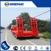 13m de 3 essieux de Lowbed remorque 50ton semi pour des machines de construction