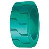 Auf Vollreifen betätigen (18X5X121/8) PU-Vollreifen für Gabelstapler-Reifen