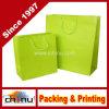 Portador de la bolsa de papel reciclado señoras bolso de compras de ropa (3222)