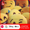 Hoofdkussen van Emoji van de Grijns van het Speelgoed van Emoji van de pluche het Hoofdkussen Gevulde