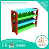 棚またはプラスチックキャビネットか子供家具またはプラスチックラックを集める子供のプラスチックおもちゃ