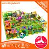 Campo de jogos interno das corrediças brandamente grandes novas das crianças do projeto para a venda