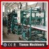 Linha de produção de alumínio máquinas da telha de telhado dos painéis de sanduíche do telhado do EPS
