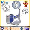 Отметка лазера волокна машины 30W маркировки кольца CNC