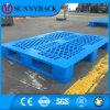 Pálete perfurada antiderrapante do plástico do armazenamento do armazém da superfície da plataforma