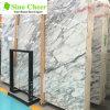 Lastre di marmo bianche dell'inclusione per la cucina e la stanza da bagno