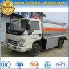 4t de Vrachtwagen van Bowser van de Brandstof van het Koolstofstaal 5 van de Brandstof Ton van de Vrachtwagen van de Tanker voor Verkoop