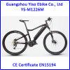 Modelo eléctrico de la bici de Yiso para la manivela / motor central / medio