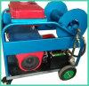 Motor de gasolina de alta presión del producto de limpieza de discos del jet 180bar de la alcantarilla del arenador