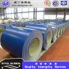 Prepainted оцинкованной стали с катушкой синего цвета