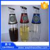 Press와 Measure를 가진 샐러드 Oil와 Vinegar Dispenser