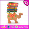 2015 Educational Wooden Folds High Toys for Kids, Lovely Camel Deisgn Wooden Layers Toy, Christmas Gift Wooden Layers Toy W13D085