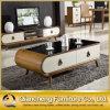 Tavolino da salotto superiore di Marble Wooden con New Drawer (8628#)