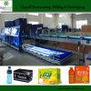 De Machine van de Doos van het Karton van de verpakking voor de Verpakking van Flessen en van Blikken