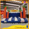 多彩なジャングルの膨脹可能なトランポリンの警備員の子供のInflataleのベッド(AQ280)
