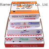 Scatola di cartone ondulata per le pizze, scatole da pasticceria, contenitori del biscotto (PB160619)