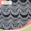 Ткань шнурка Nylon вышивки картины Sequins волны геометрическая