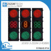 Conto alla rovescia verde di traffico del LED e di 2 colori di Digitahi rosso-chiaro 3 2 pollici