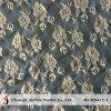 Золото металлический индийского кружевной ткани для продажи (M5413-J)