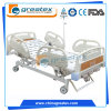 2クランクのABSガードバーが付いている手動病院用ベッド
