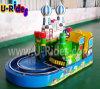 セリウムが付いているモスクワの娯楽子供の電車