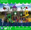 Spitzenverkaufenkind-im Freienspielplatz-Felder für Verkauf