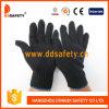 Перчатки хлопка или полиэфира Ddsafety 2017 черные