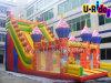 工場高品質の子供および大人のための膨脹可能なスライドの膨脹可能な警備員のスライドの跳躍の城