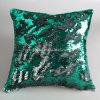 Sirena almohada mágica cambio de color reversible lentejuelas almohadilla de tiro de la cubierta