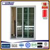 スクリーンが付いているアルミニウムによって組み立てられる緩和された安全ガラスのスライディングウインドウ