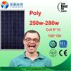 PolySonnenkollektor der preiswerte Qualitäts250w auf Lager