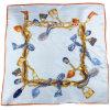 女性の方法あや織りのデジタルプリント絹のあや織りのスカーフ