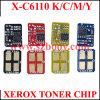 Circuito integrato del toner per il circuito integrato del toner di colore di Xerox C6110-K/C/M/Y