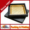 Montre/bijou/cadeau de luxe cadre de empaquetage en bois/papier d'étalage (1318)