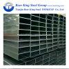 Tubo d'acciaio della saldatura quadrata di ERW/tubo rettangolare galvanizzato/tubo rettangolare per i materiali da costruzione