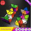 Изумительный волшебный кубик преобразовывая геометрические игрушки головоломки