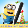 安い単一のノズルのかわいい3D印刷のペン