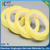 nastro adesivo del Mylar dell'animale domestico giallo dell'isolamento di 0.055mm per il trasformatore