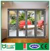 Porte de pliage en aluminium de Pnoc080323ls avec le modèle de toilette