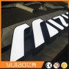 Letras iluminadas da calha de aço inoxidável do diodo emissor de luz face impermeável ao ar livre