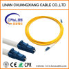 Cable de conexión de cable de fibra óptica LC-LC monomodo 1m