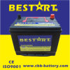 Leistung Batteries Lead Acid 55D26rmf 12V60ah chinesisches Car Battery